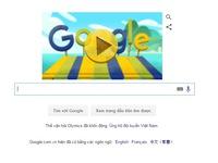Google trình làng game di động và doodle mới hưởng ứng Olympic Rio 2016