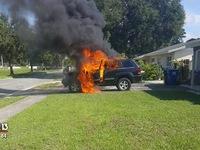 Galaxy Note7 bất ngờ phát nổ trong xe tại Florida