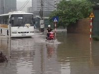 Các công trình tiêu thoát nước Hà Nội chưa đáp ứng được thực tế
