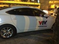 Phát hiện xe ô tô tư nhân đóng logo giả mạo VTV News
