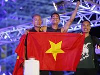 Sasuke Việt Nam: Lê Văn Thực gây sốc vì lên đỉnh nhanh nhất thế giới