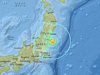 Nhật Bản nâng mức cảnh báo sóng thần tại các khu vực ven biển