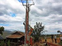 Điện lưới quốc gia về biên giới Kon Tum