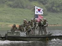 Hàn Quốc - Mỹ tập trận hải quân chung trên biển