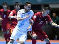 Người hâm mộ không ngại đường xa tới cổ vũ cho ĐT Futsal Việt Nam
