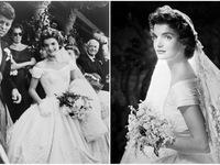 10 bộ váy cưới 'biểu tượng' của làng thời trang thế giới