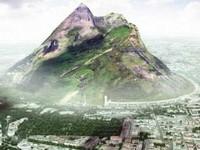 UAE xây núi nhân tạo đối phó hạn hán