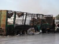 Nga bác cáo buộc tấn công xe chở hàng viện trợ tại Syria