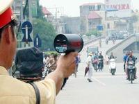 Tăng cường bắn tốc độ trong Tuần lễ ATGT đường bộ tại TP.HCM