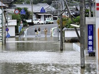 Bão Malakas càn quét Nhật Bản, 2 người mất tích, 42 người bị thương