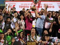 KT, Vòng 26 V.League 2016: Hà Nội T&T lên ngôi kịch tính