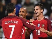 Vòng loại World Cup 2018: Bồ Đào Nha đè bẹp Đảo Faroe 6 bàn trắng