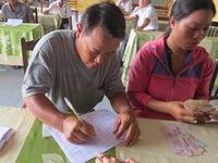Những ngư dân đầu tiên nhận bồi thường của Formosa do sự cố môi trường biển