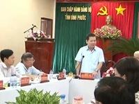 Kiểm tra phòng chống tham nhũng tại Bình Phước