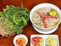 Bún bung hoa chuối - món ăn đậm chất quê Thái Bình