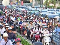 Kẹt xe - Nỗi ám ảnh của người dân TP.HCM