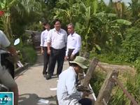 Cần Thơ: Nhiều cán bộ bị xử lý trong vụ phá lan can cầu