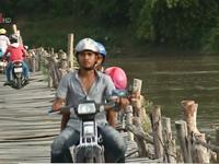 Gia Lai: Nhiều cầu tạm mất an toàn trong mùa mưa lũ