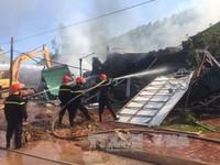 Hỏa hoạn tại siêu thị đồ gia dụng ở Thanh Hóa, nhiều hàng hóa bị thiêu rụi
