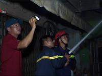 Cháy lớn thiêu rụi một căn nhà tại Bà Rịa - Vũng Tàu