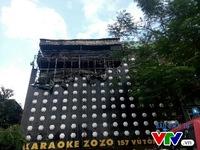 Hà Nội: Khống chế nhanh đám cháy lớn tại quán Karaoke