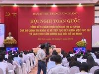 Việc học tập và làm theo tấm gương đạo đức Hồ Chí Minh đã đi vào nề nếp