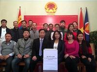 Cộng đồng người Việt tại Mông Cổ ủng hộ đồng bào miền Trung
