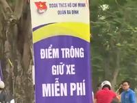 Công viên Thủ Lệ trông xe miễn phí dịp nghỉ lễ 30/4