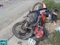 TP.HCM: Một phụ nữ bị xe container cuốn vào gầm