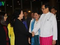 Chủ tịch Quốc hội thăm chính thức Myanmar