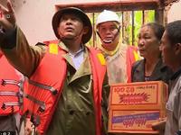 Bình Định tập trung cứu trợ người dân vùng lũ