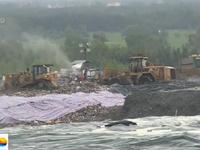 Khẩn cấp kiểm tra lượng nước rỉ rác ở khu Đa Phước (TP.HCM)