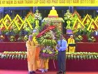 Đại lễ kỷ niệm 35 năm ngày thành lập Giáo hội Phật giáo Việt Nam