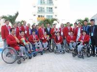 Paralympic Rio 2016: Đại sứ Việt Nam tại Brazil thăm Đoàn Thể thao NKT Việt Nam tại làng VĐV