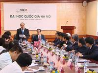 'Đại học Quốc gia Hà Nội phải là một phần của hệ sinh thái khởi nghiệp'