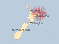 Động đất 7,1 độ richter tại New Zealand gây sóng thần