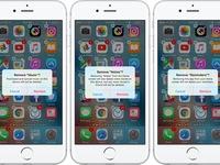 Sự thật về tính năng xóa ứng dụng gốc trên iOS 10