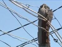 Nguy hiểm từ những đường điện tự phát tại Khánh Hòa