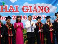 Lãnh đạo TP.HCM dự lễ khai giảng năm học mới