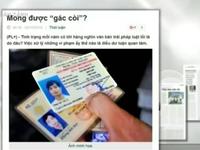 Buộc chuyển đổi giấy phép lái xe từ giấy sang nhựa: Nặng tính áp đặt, trái luật