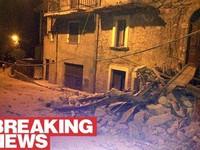 Động đất 6,2 độ richter ở Italy, 6 người thiệt mạng