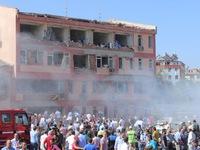 Miền Đông Thổ Nhĩ Kỳ rung chuyển vì nổ lớn