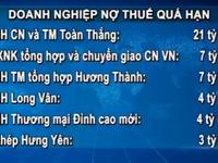 Hà Nội công bố danh sách 77 doanh nghiệp nợ thuế quá hạn
