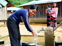 Đưa 75 triệu lít nước sạch đến các làng ung thư