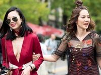 'Vũ điệu' của muôn kiểu váy trên đường phố Milan