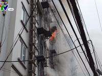 Quán karaoke bị cháy trên đường Trần Thái Tông từng bị đình chỉ hoạt động
