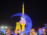 Rực rỡ lễ hội đèn lồng khổng lồ Việt - Hàn 2016