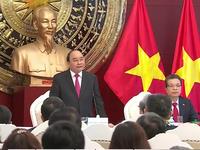 Thủ tướng gặp cán bộ Đại sứ quán và sinh viên Việt Nam tại Trung Quốc