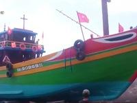 Hạ thủy tàu hậu cần nghề cá lớn nhất Đà Nẵng