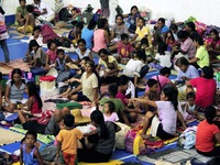 Bão Haima gây thiệt hại lớn tại Philippines